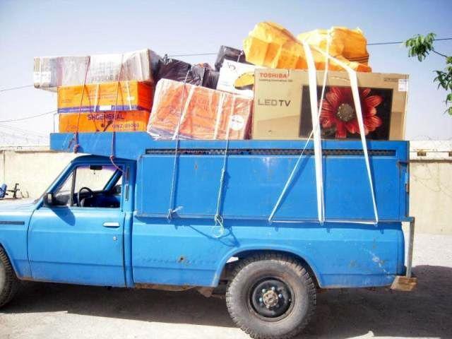 حمل اثاث منزل با نیسان به ساری